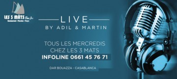 LIVE BY ADIL & MARTIN
