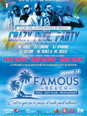 CRAZY POOL PARTIES @ Famous Beach